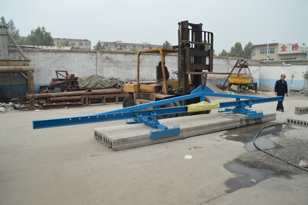 Concrete Slab Lifting : Lifting system for precast concrete hollow core planks