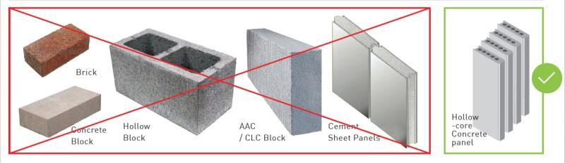 Concrete Partition Wall Panel Indiaprecast